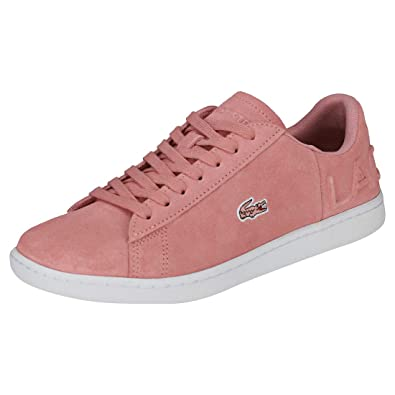Evo Mode RoseChaussures Lacoste Baskets Femme Carnaby 80OXnkwP