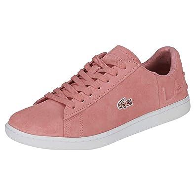 Zapatillas Lacoste Carnaby EVO 318 Rosa: Amazon.es: Zapatos y complementos