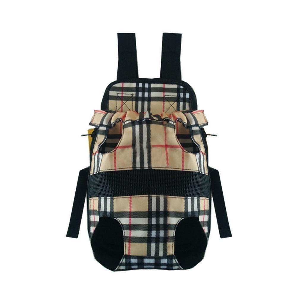 C 5838cmDaeou Pet Backpack Canvas Double Shoulder Chest Bag Portable Dog Bag cat cage