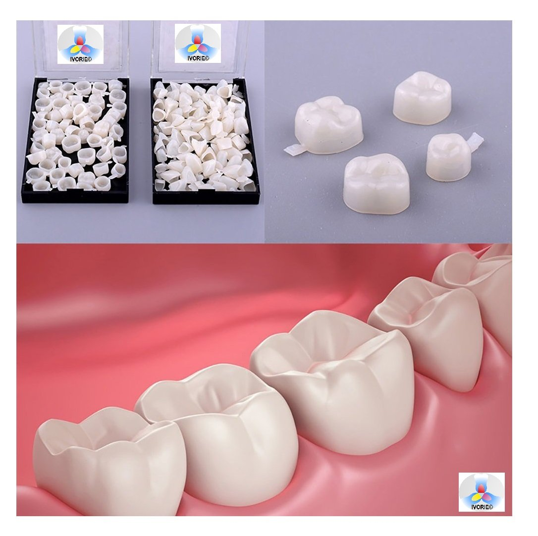 Dental Temporary Crown Material For Anterior Teeth and Molar Posterior Teeth (Molar Teeth)