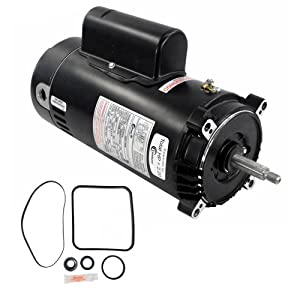 Puri Tech Century Electric UST1202 2-Horsepower Up-Rated Round Flange Replacement Motor (Formerly A.O. Smith)