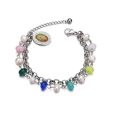 Buy REEBOOOR Catholic Jewelry Virgin Mary Bracelet Religious