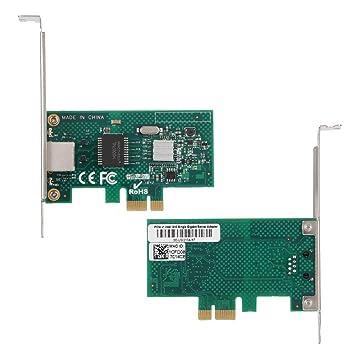 Tosuny para Intel I210AT PCI-E X1 Gigabit Ethernet Tarjeta ...