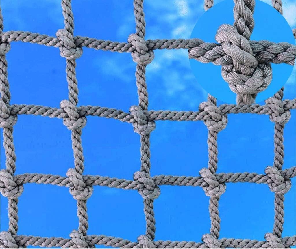 遊び場クライミングネット子供大人登山トレーニング登山セーフティネットツリーハウスペット保護ネットトラックトレーラーヘビーデューティネットバルコニーセーフティレール階段装飾メッシュマルチサイズ (Size : 1*7m(3.3*23ft))  1*7m(3.3*23ft)