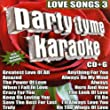 Party Tyme Karaoke - Love Songs 3 (16-song CD+G)