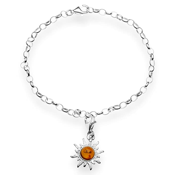 InCollections Damen-Charm-Armband 925/000 Sterlingsilber mit ...