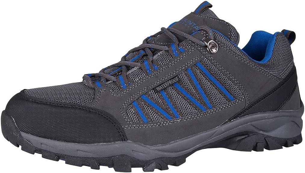 Mountain Warehouse Zapatillas Path para Hombre - Zapatillas Impermeables para el Gimnasio, Botas de montaña con Forro de Malla y Gran Agarre - para Agarre y Estabilidad: Amazon.es: Zapatos y complementos