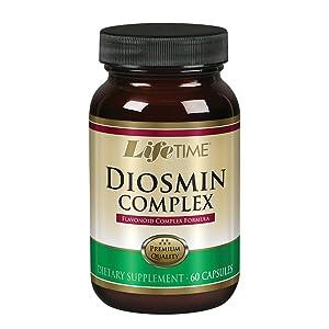 LIFETIME Diosmin Complex 500mg | 60 Caps