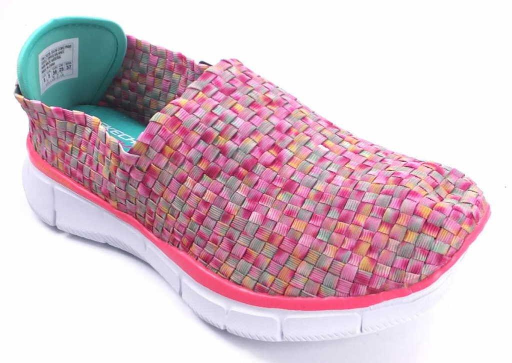 Skechers Equalizer Vivid Dream, Zapatos, Mujer 36 EU|Rojo