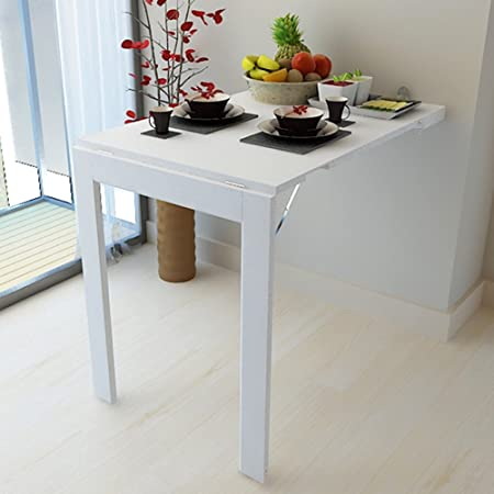 Xiaolin Mesa de Pared Plegable Mesa de Cocina Plegable Mesa de ...