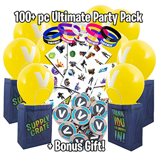 Video Game Party Supplies - Battle Royale Themed