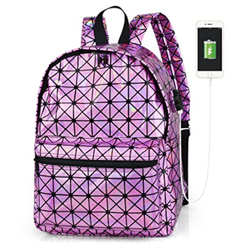 Leather Backpack Dos Sac 006 for Hologram Multicolor Silver Laser Holographic Women Backpack School Bag 003 A Backpack Fashion Girl New PqTzxfw