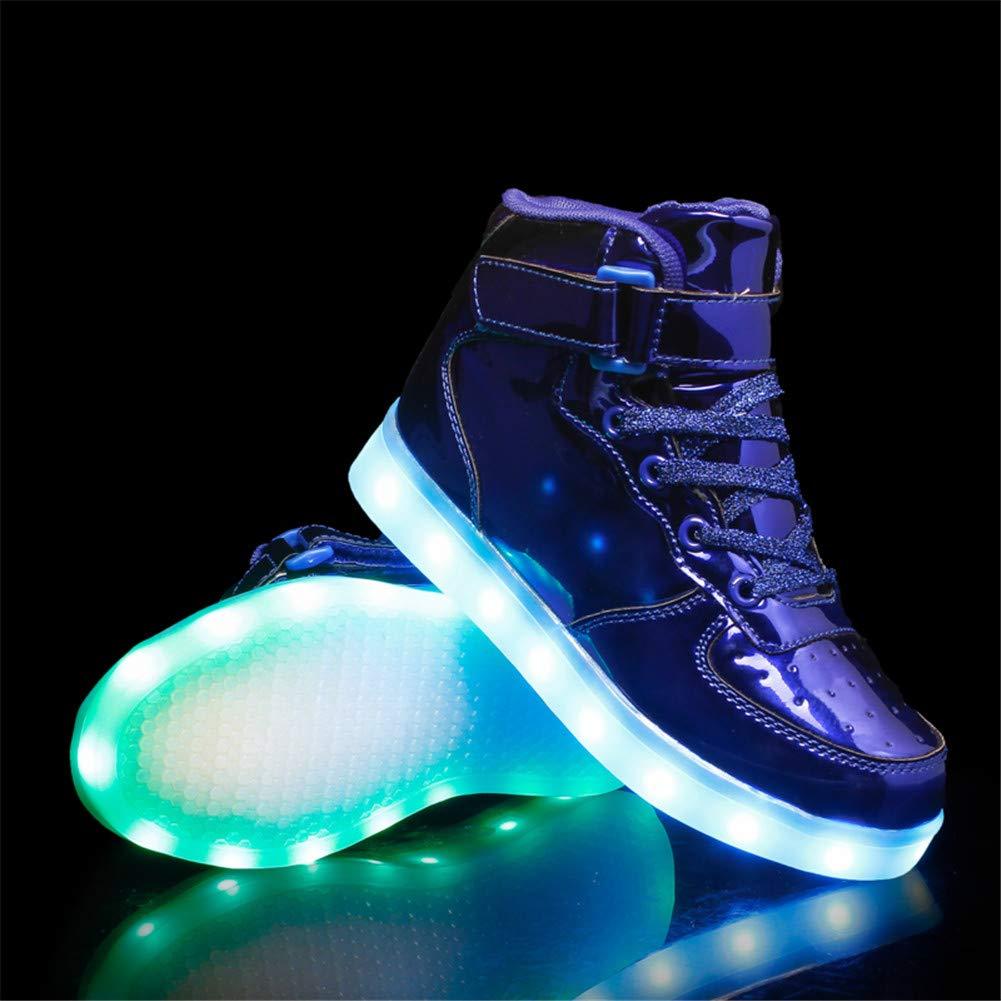 a52556ca0 Aizeroth-UK LED Zapatos Verano Ligero Transpirable Bajo 7 Colores USB Carga  Luminosas Flash Deporte de ...