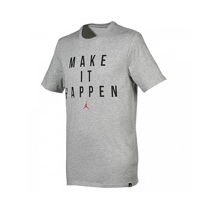 a82051115c6c Nike Michael Jordan Make It Happen Dri-Fit Tee Maglietta a Maniche Corte