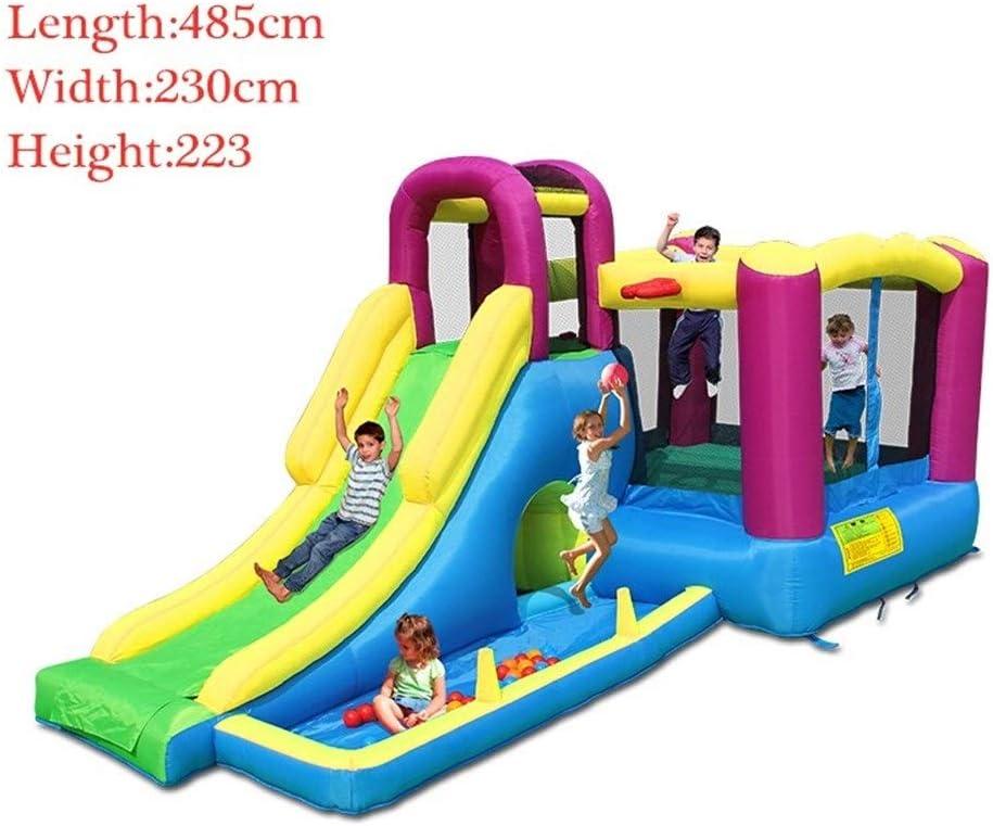 MELLRO Castillos Inflables Grado Comercial soplador de Aire Incluido for niños al Aire Libre de los niños Inflable Castle House Kids Partido hinchables Casa Juguetes de colchón de Aire al Aire Libre: