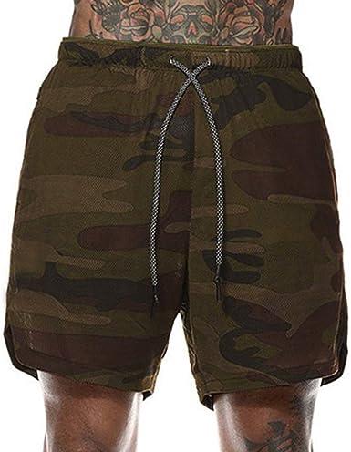 Mens Training Short Pants Clearance Sale NDGDA Fast Drying Pockets Inside Running Sports Short Pants Summer