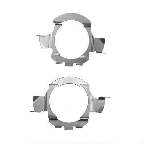 D2D 2X H7 - Adaptador de Bombilla LED para Faros Delanteros de Coche
