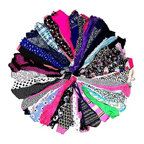 DIRCHO Women Underwear Variety of Panties Thong G-String T-Back Tanga Pack of 10&20 (10 Pcs, X-Small) ()