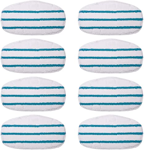 4 Pack Magicmops Compatible Pursteam Steam Mop Pads Compatible with PurSteam ThermaPro 10-in-1 Steam Mop Cleaner