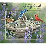Lang 2017 Songbirds Wall Calendar, 13.375x24-Inch