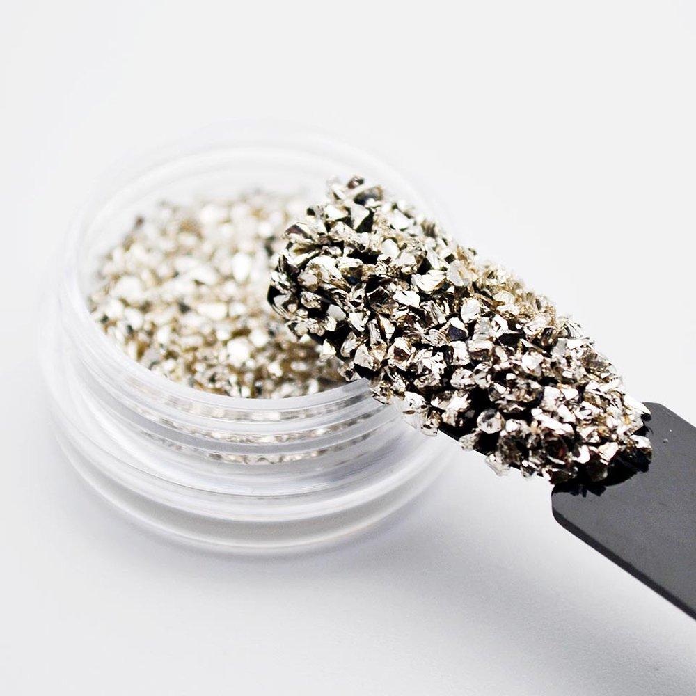 Juego de 12 piedras de cristal rotas para uñas con gemas de imitación y cristales decorativos en 3D: Amazon.es: Belleza