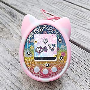 Walmeck- Protective Cover Shell Silicone Case Pet Game Machine Cover for Tamagotchi Cartoon Electronic Pet Game Machine