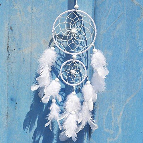 Blerameng Handmade Feathers Dream Catcher Hunter substance a