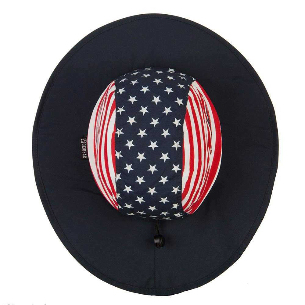 Outdoor Stars and Stripes Boonie Sun Hat