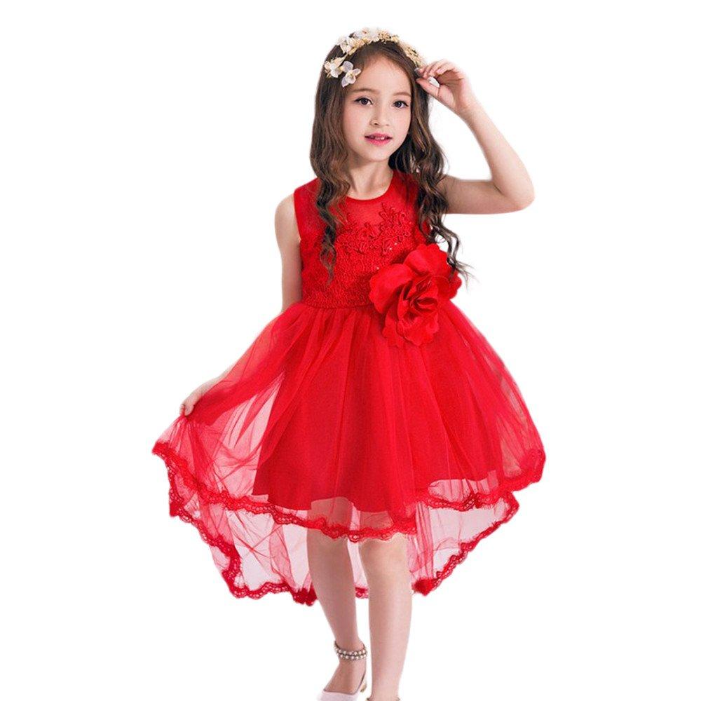 LAND-FOX Ropa para bebé s,Princesa de la Belleza de la Muchacha Disfraz de Navidad Disfraces de Halloween (6 Añ os, Azul) Princesa de la Belleza de la Muchacha Disfraz de Navidad Disfraces de Halloween (6 Años