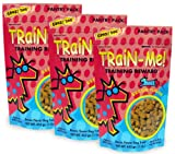 3 PACK Crazy Dog Train-Me! Treats Bacon Flavor (3 lb), My Pet Supplies