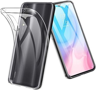 TopACE Funda para Xiaomi Mi A3,Funda Transparente Suave TPU Gel ...