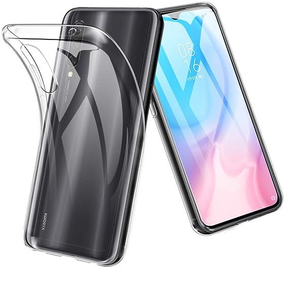 Amazon.com: Funda para Xiaomi Mi A3, TopACE TPU Gel de Goma ...