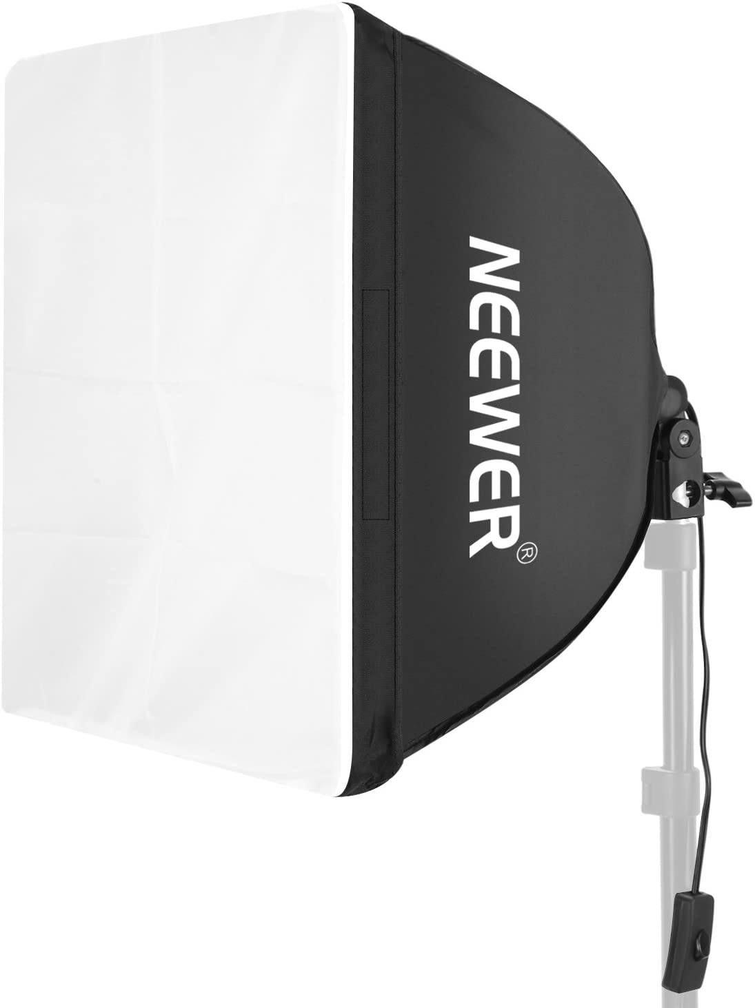 """Neewer 16""""x16""""/40cmx40cm Photography Photo Video Studio Wired Softbox Flash Light Lighting Diffuser with E27 Socket for Fluorescent Bulb Lamp"""