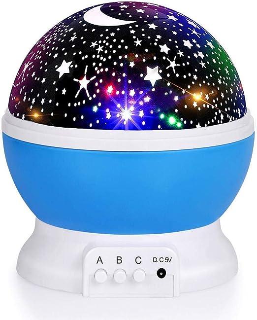 Amazon.com: Luckkid - Proyector de luz nocturna para bebé ...