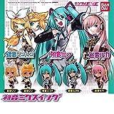 Bandai Vocaloid Hatsune Miku Swing Keychain Figure Mascot ~1.5