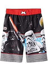 Boys LEGO Star Wars Darth Vader & Stormtrooper Swim Trunks (4)