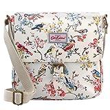 Cheap Cath Kidston Oilcloth Mini Satchel Bag Crossbody Blossom Birds Cream 16SS