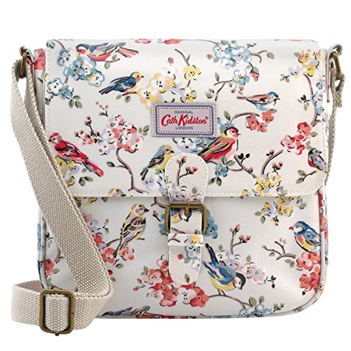 Cath 16SS Cross Kidston Cream Bag Blossom Birds Satchel Oilcloth Mini Colour Body ZUZqgrRn