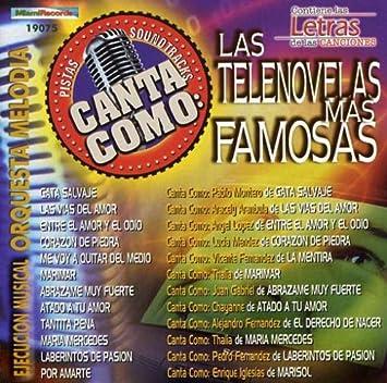 Orquesta Melodia - Pistas: Canta Como Tus Telenovelas Mas Famosas - Amazon.com Music