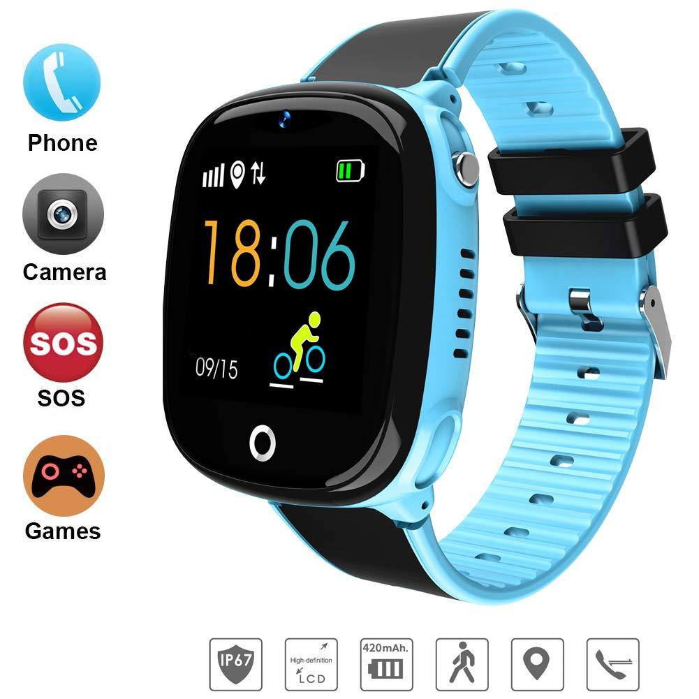 DUWIN Reloj Inteligente niños SmartWatch IP67 Impermeable ...