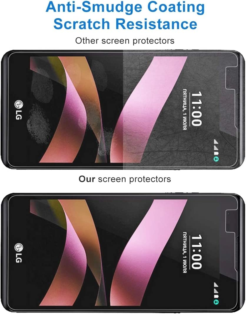 YSH Cell Phone Accessories 100 PCS for LG Q6 0.26mm 9H Surface Hardness Explosion-Proof Full Screen Tempered Glass Screen Film Screen Protector for LG