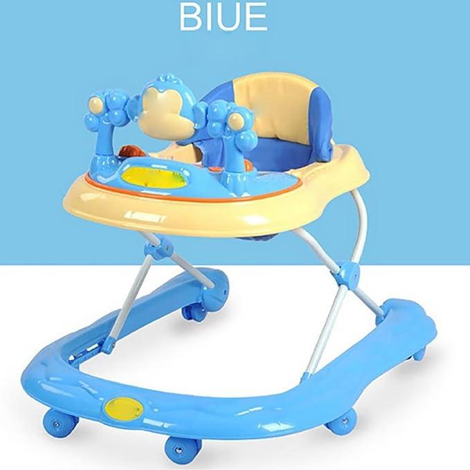 GUO La música del bebé multifuncional andador andador vuelco ...