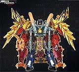 AM-01 Optimus Prime & AM-19 Gaia Unicron