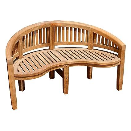 Astounding Achla Designs Monet Bench Ofb 09 Natural Wood Dailytribune Chair Design For Home Dailytribuneorg