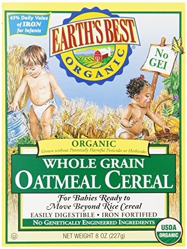 Earths Best Organic Oatmeal Cereal