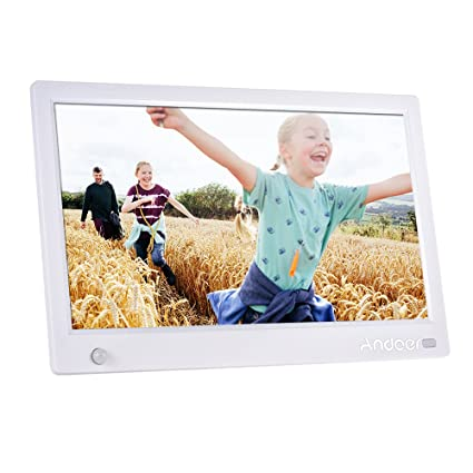 Amazon.com: 11.6 Inch Digital Picture Frame,Andoer HD IPS Widescreen ...