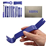 XBRN 12-Pack Trim Removal Tool, Car Panel Door Audio Trim Tool Kit, Auto Clip Fastener Remover Pry Tools Set
