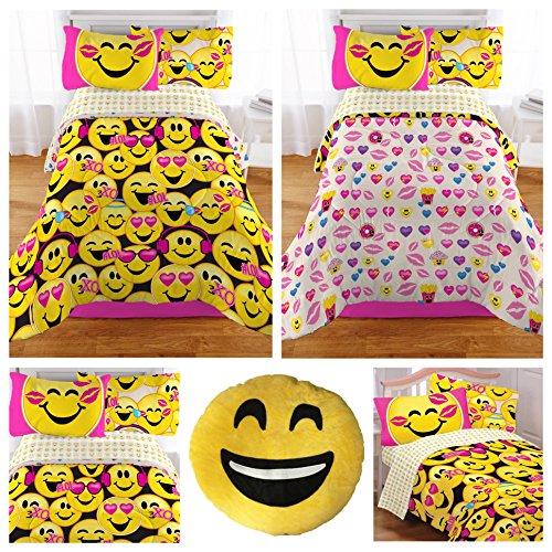 emoji-complete-5-piece-girls-bedding-set-twin