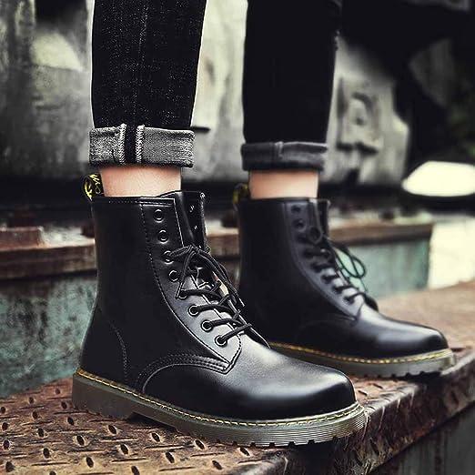 Homme Bottes et Boots, Moonuy Automne Hiver Bottes Classiques Homme Bottines Formelles Fourré en Cuir Suède Design Casual Desert Bottes Chaussures