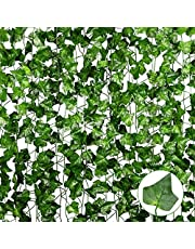 Anoak12 Pack Artificial Ivy Fake